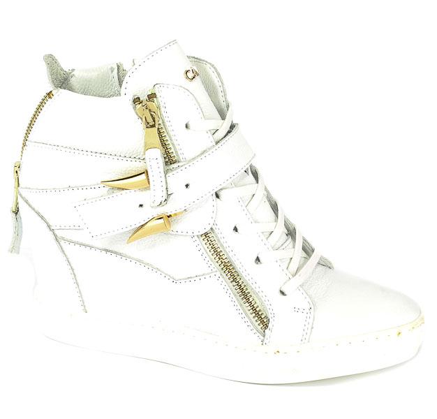 Sneakersy Carinii B3972-I81-000-000-B88 Biały