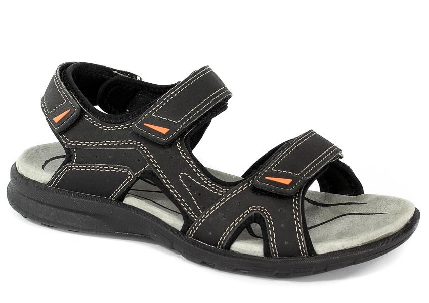 Sandały American BIF6201 Black