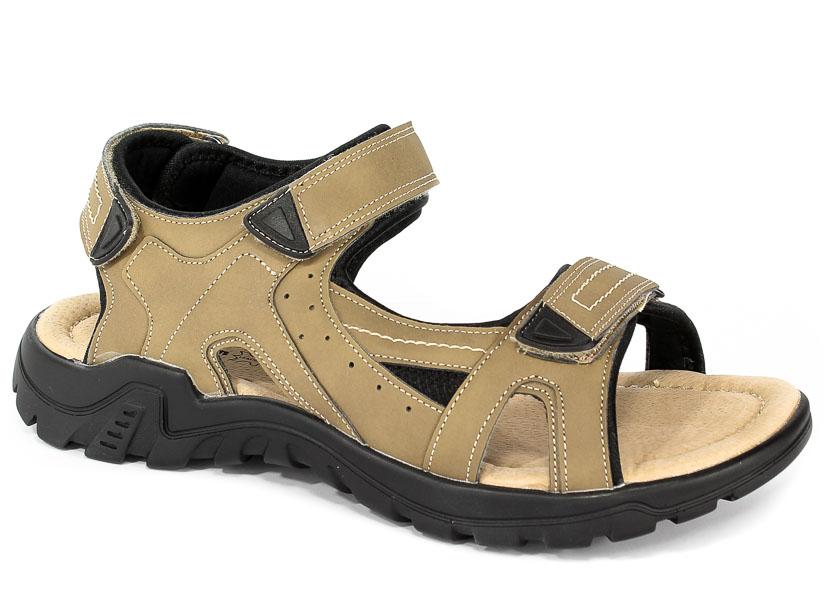 Sandały American 80152 Beige