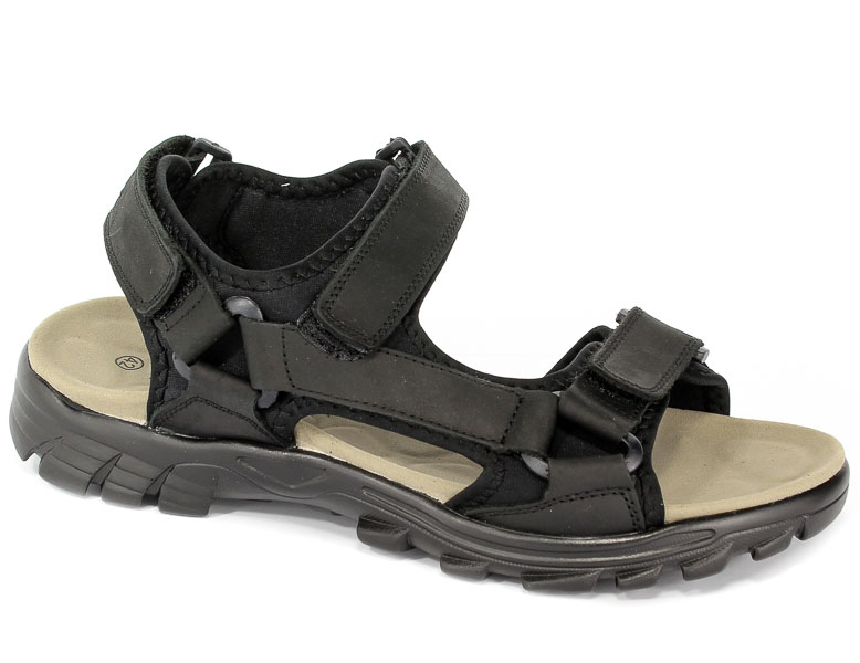Sandały American HXZ1719 Black