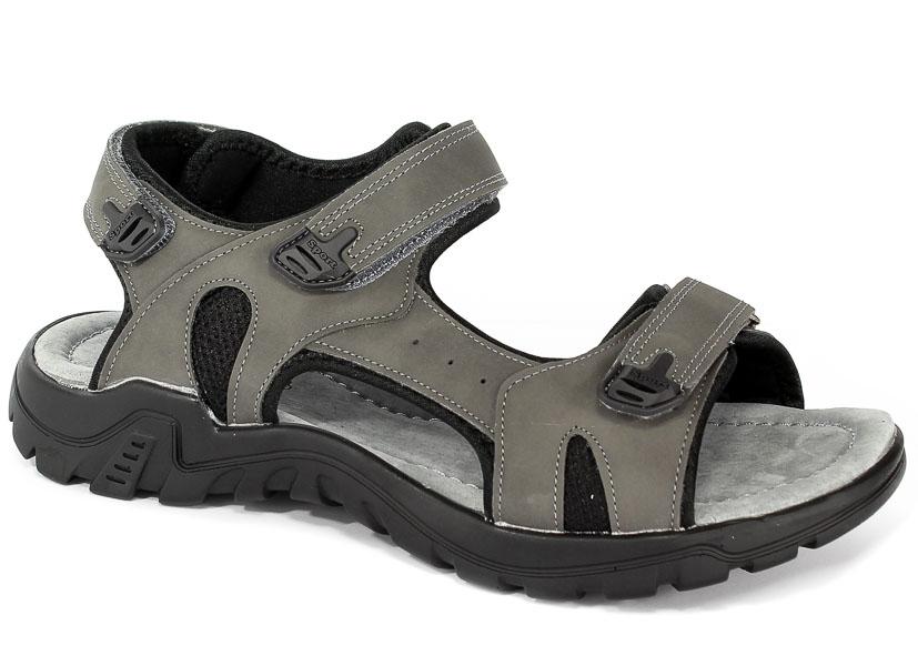 Sandały American 80151A Grey