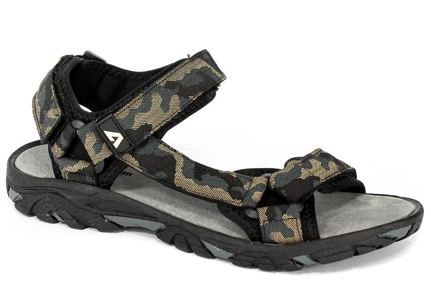 Sandały American RL1728 Soldier Black