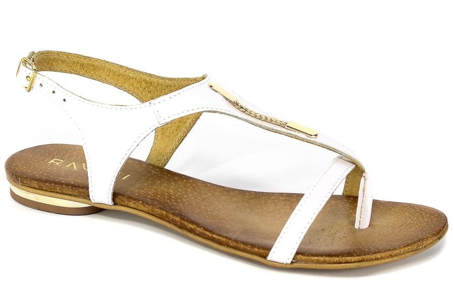 Sandały Ravini 504/1 Biały