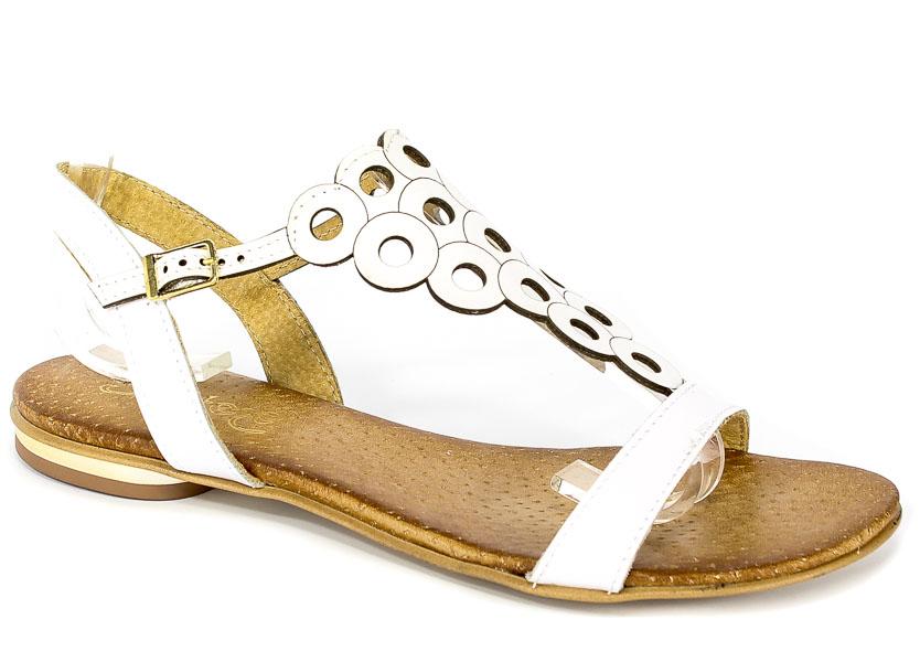 Sandały Ravini 502/1 Biały