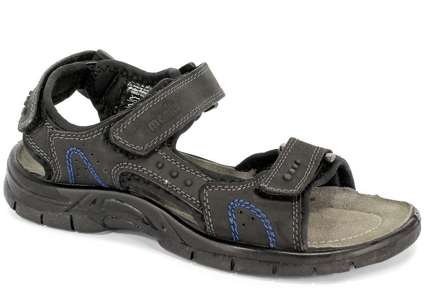 Sandały Manitu 610233 Schwarz