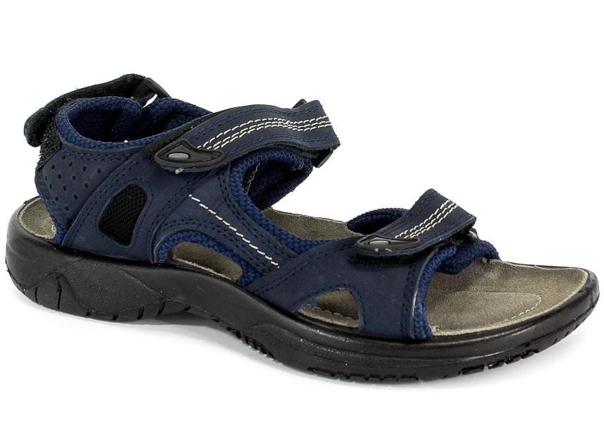 Sandały Manitu 910779 Navy