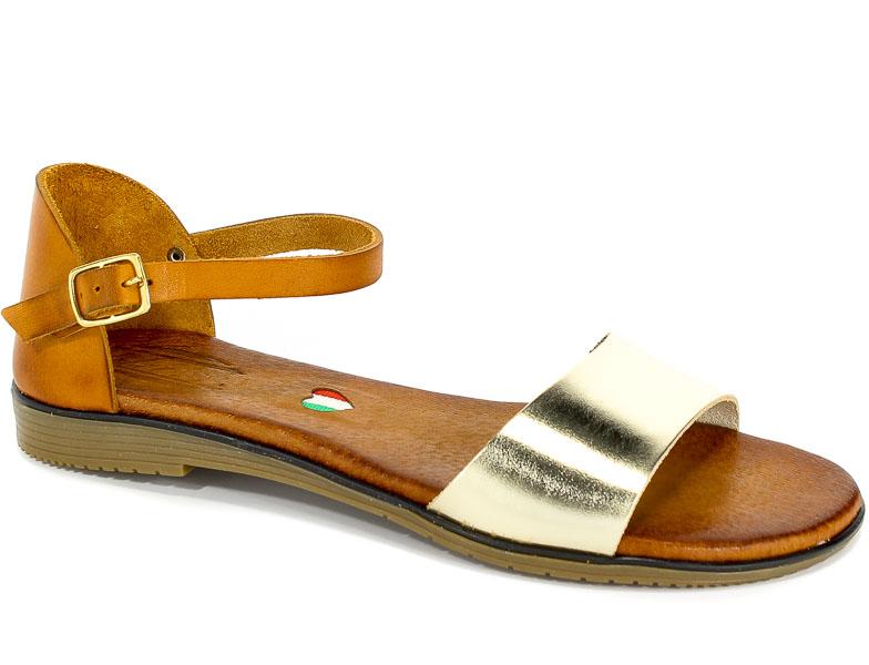 Sandały Blu... 1022 Br 6+Złoty