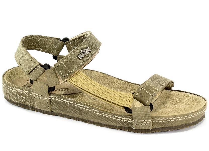 Sandały Nik 07-0090-01-9-05-03 Beżowy