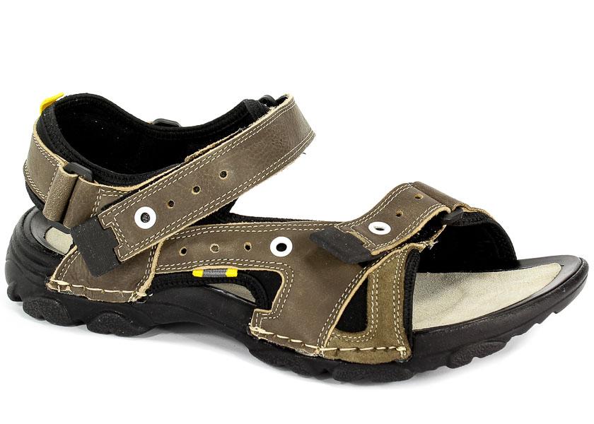 Sandały Badura 6035-635 Oliwka