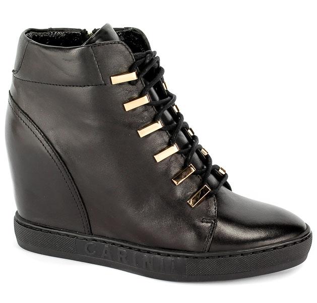 Sneakersy Carinii B4516-E50-000-000-B88 Czarny