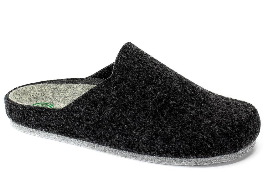 Pantofle Brinkmann 220215 Anthrazit