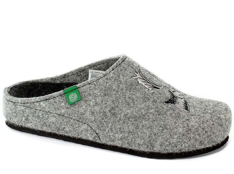 Pantofle Brinkmann 220259 Grau