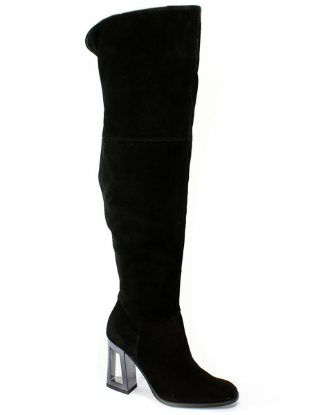 Kozaki Solo Femme 45617-32-G70/000-01-00 Czarny