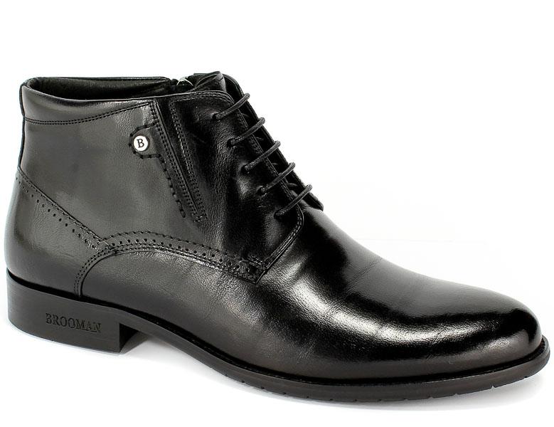 Trzewiki Brooman 598-80201R Black