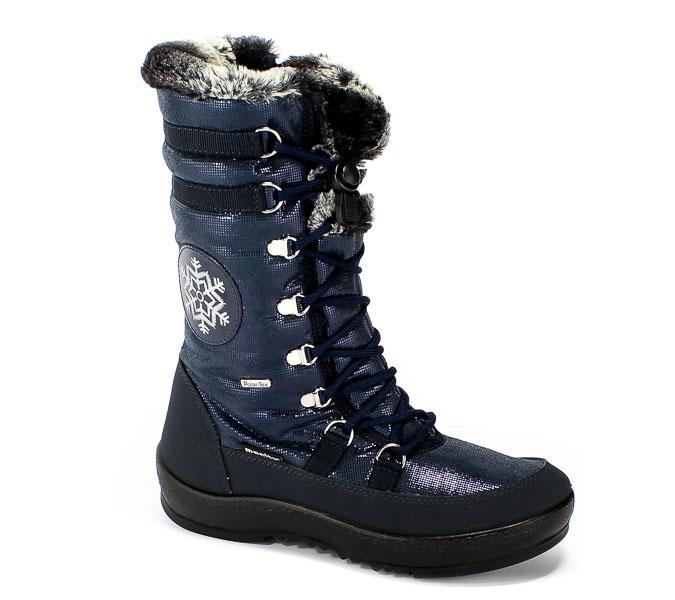 Śniegowce Manitu 991173 Blau Polar Tex