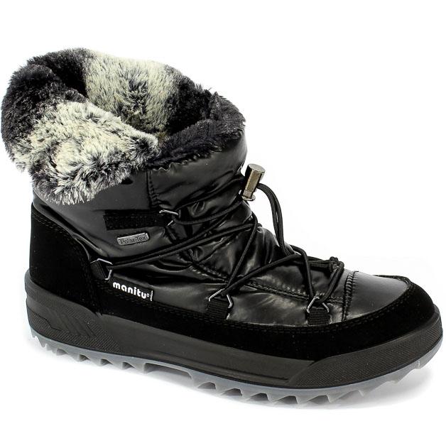Śniegowce Manitu 991227 Schwarz