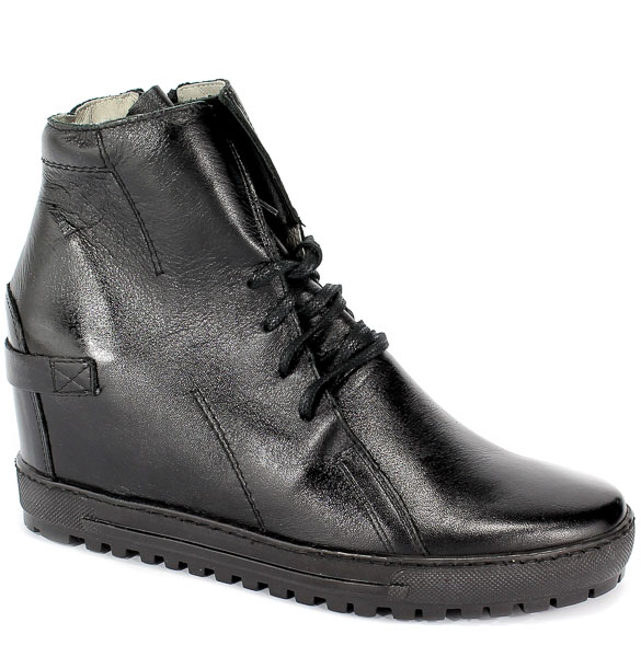 Sneakersy Eksbut 75-3975-155-1G Czarny Licowa