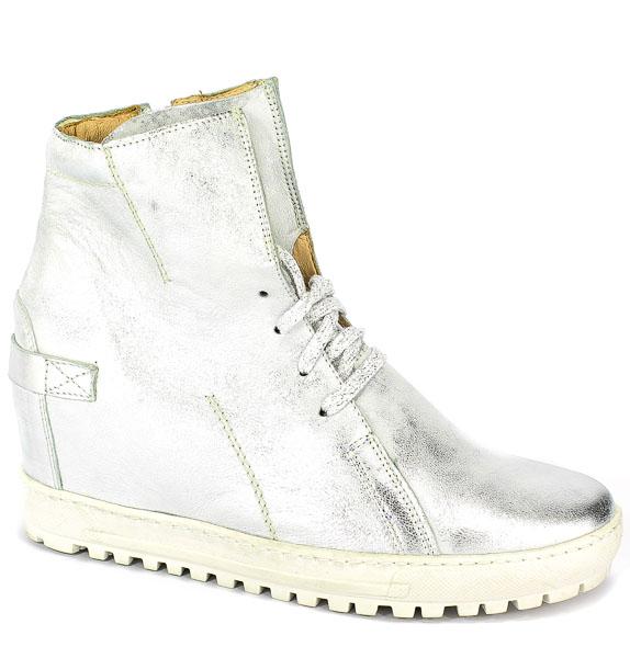 Sneakersy Eksbut 75-3975-369-1G Srebro Licowa