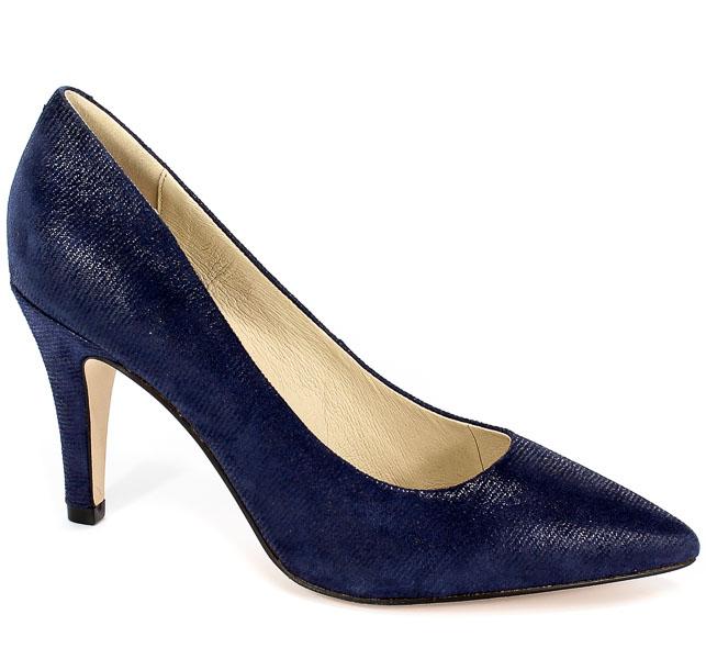 Czółenka Caprice 9-22416-22 802 G Blue Jeans Sue