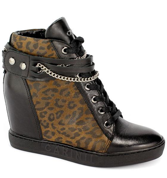 Sneakersy Carinii B4915-E50-M61-PSK-B88 Czarny/Pantera
