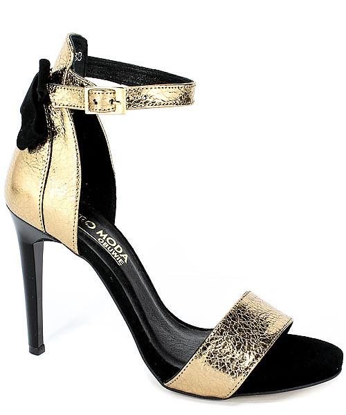 Sandały Karino 2496/074-P Złoty
