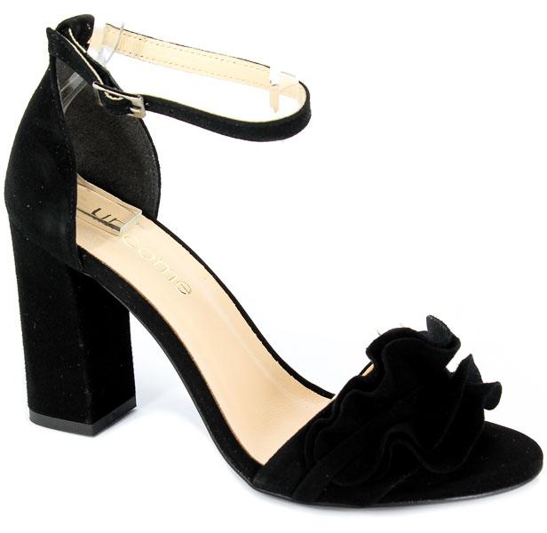 Sandały Uncome 28100 Cam.Nero