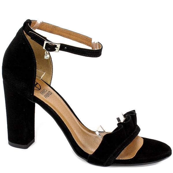 Sandały Fabio Fabrizi 799 Czarny Zam