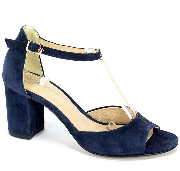 Sandały Uncome 24120 Granatowy