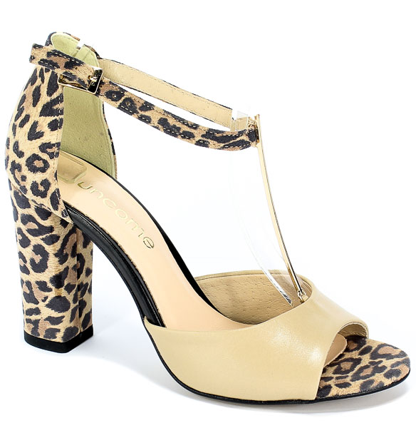 Sandały Uncome 24089 Mix leopardo