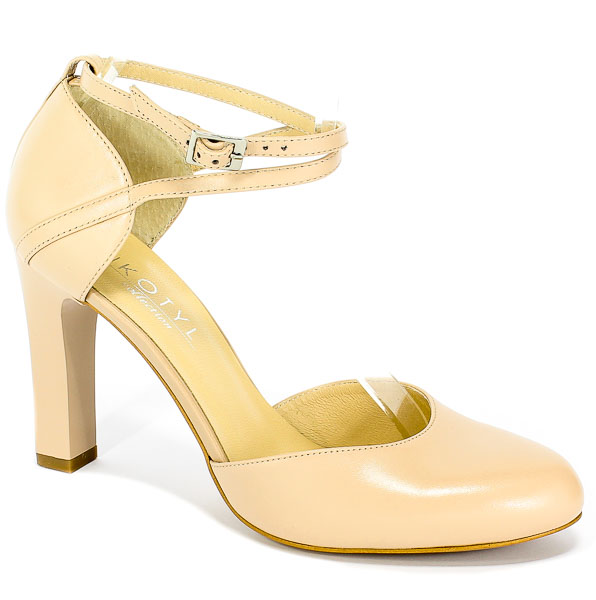 Czółenka letnie Kotyl 5891 Beż sandalo