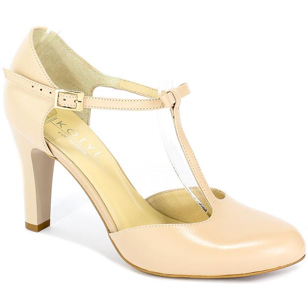 Sandały Kotyl 5871 Beż lico