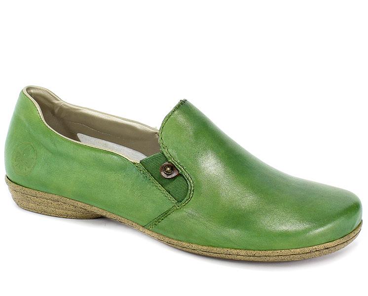 Półbuty Rieker 53960-52 Green