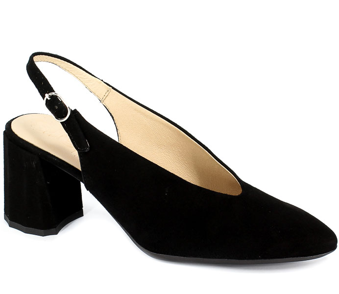 Sandały Wonders L-9701 Negro