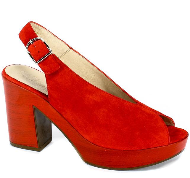 Sandały Wonders L-9151 Rojo