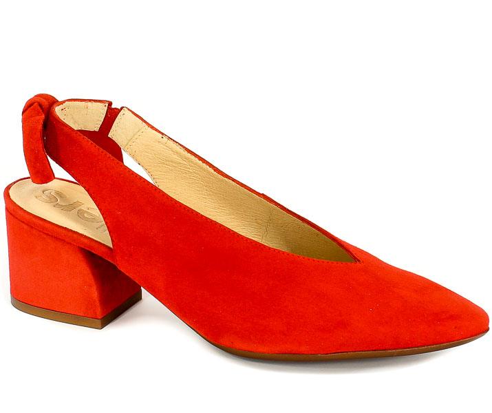 Sandały Wonders I-7211 Rojo
