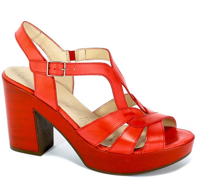 Sandały Wonders L-9154 Rojo