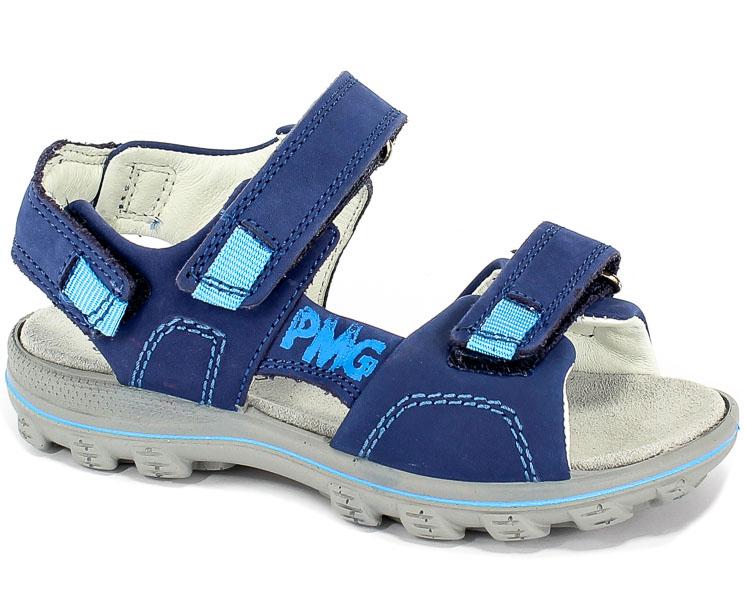 Sandały Primigi 3396100 Nabuk/Bluette r.36-40