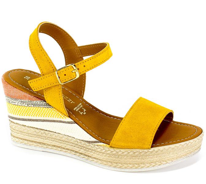 Sandały Marco Tozzi 2-28347-22 600 Yellow