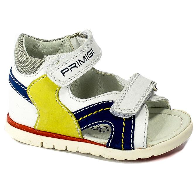 Sandały Primigi 3405600 Nappa/Nabuk/Bco/Blue r.18-26