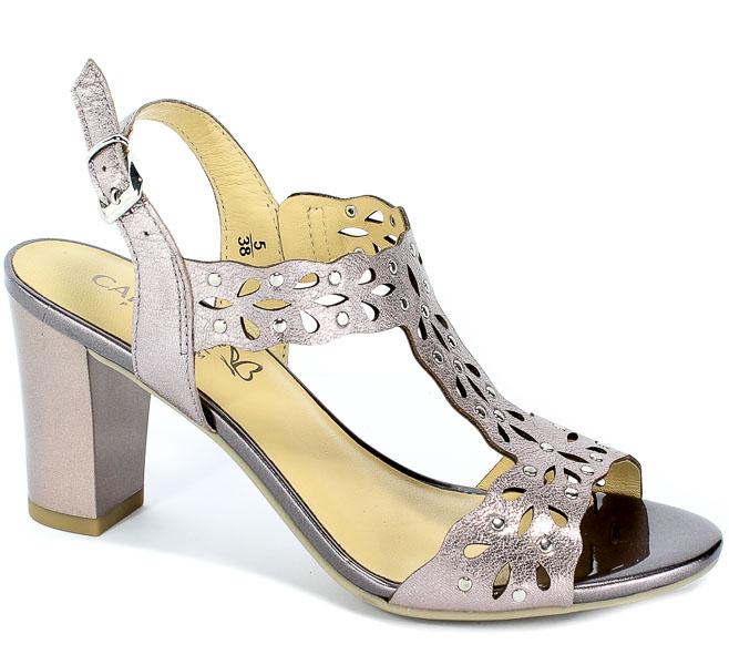 Sandały Caprice 9-28315-22 596 Soft Pinf Met.