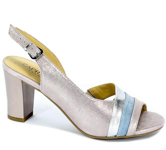 Sandały Caprice 9-28314-22 579 Soft Pink Mul.