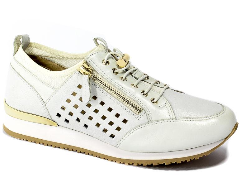 Półbuty Caprice 9-23500-22 197 White Comb