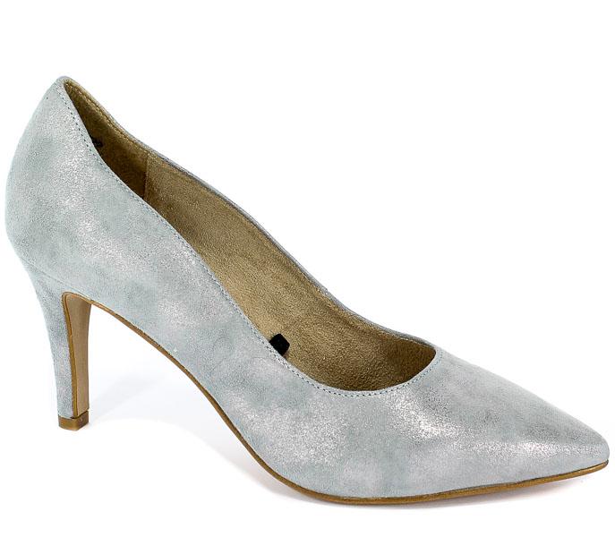 Czółenka Tamaris 1-22494-22 220 Grey Metallic