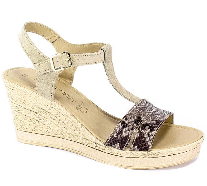Sandały Marco Tozzi 2-28340-22 435 Dune Comb