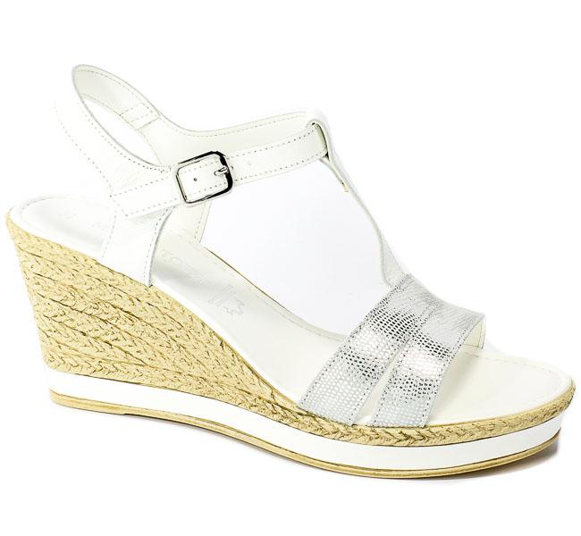 Sandały Marco Tozzi 2-28340-22 197 White Comb