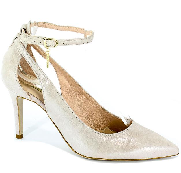 Sandały Bravo Moda 1726 Cipria Lamina