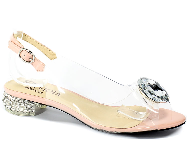 Sandały Sca'viola G-15 L-Pink