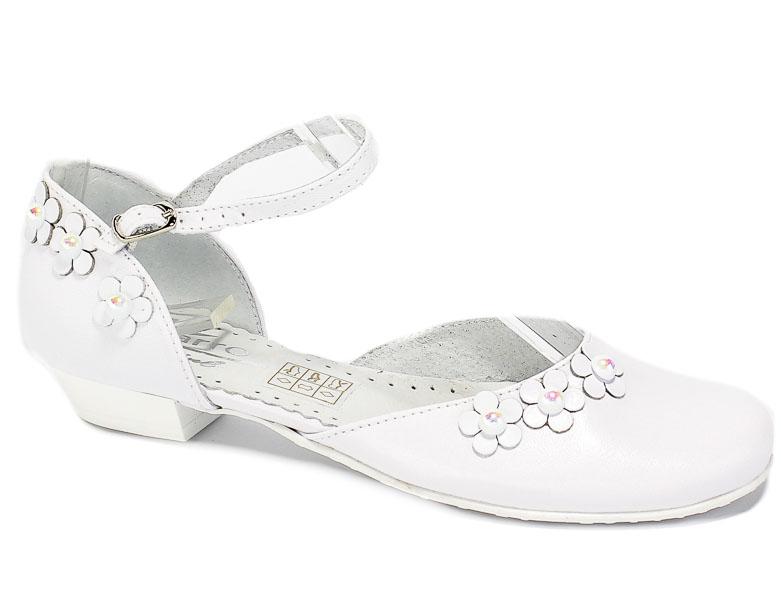 Półbuty Letnie Zarro 2431 Biały