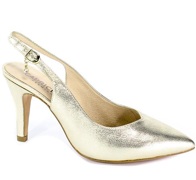 Sandały Caprice 9-29602-22 978 Lt Gold Metal