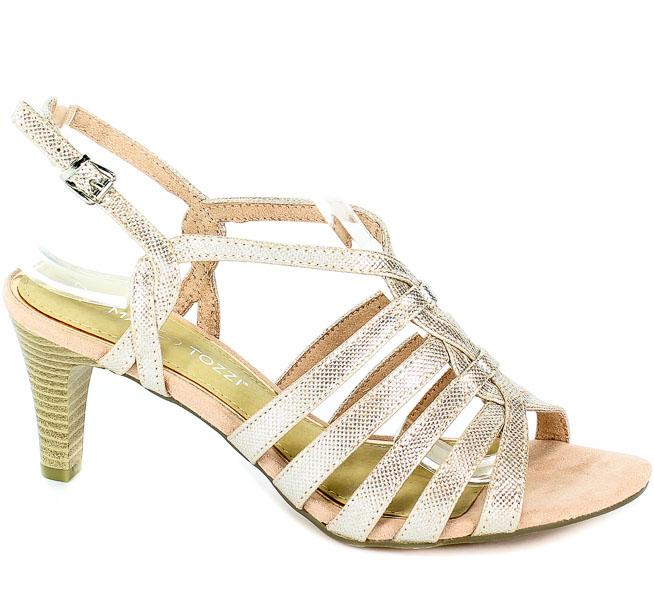 Sandały Marco Tozzi 2-28321-22 592 Rose Metallic